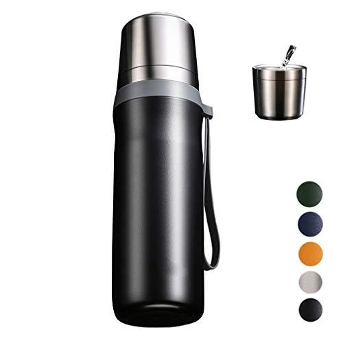 Borraccia In Acciaio Inossidabile BWBZ 304 Thermos Per Caffè Coperchio Intelligente 1 Minuto L'acqua Bollente Diventa Acqua Calda Copertura Interna Staccabile Complessiva Tazza Tonda Filett