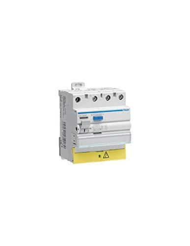 Differentialschalter Hager-25A-300mA-3-polig + neutral-Typ AC-Schrauben/Schrauben