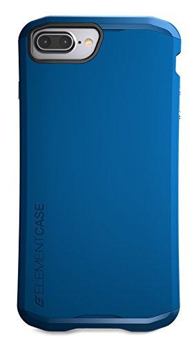 Element Case EMT-322-100EZ-11 Aura Tasche für Apple iPhone 7 Plus deep rot dunkelblau