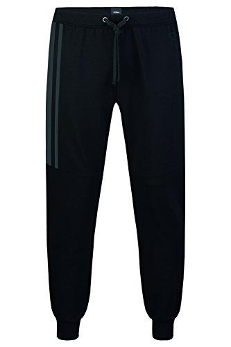 Strellson Herren Pyjama-Pants aus Baumwolle-Modal Schwarz (super black)
