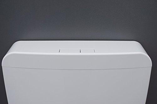 OLI Aufputzspülkasten 2-Mengen Spülung weiß AP Aufputz Spülkasten