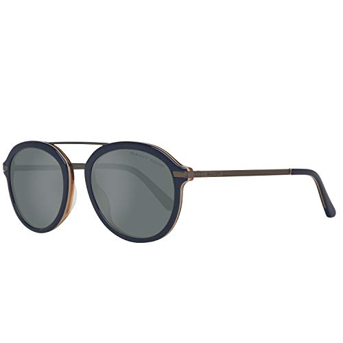 GANT Herren Ga7100 91D 52 Sonnenbrille, Blau,