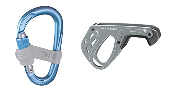 Mammut Focus Klettergurt Harnesses : Mammut smart grey blue safety climbing accessories