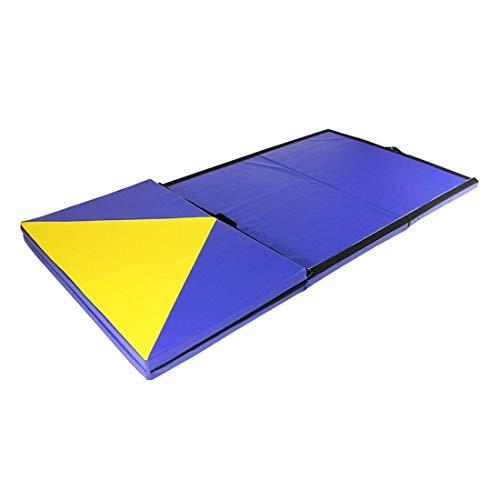 MWPO 60 Prozent, Gymnastikkissen, Auf dem Rücken liegen, Kissen/Flip Dance-Übung, Gymnastikmattenkissen, Schwammgymnastikmatte/Anwendungsort: Gymnasium, Zuhause. (Farbe blau) -