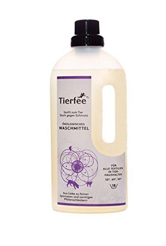 Preisvergleich Produktbild Tierfee Ökologisches Waschmittel für Tierliebhaber - 1 Liter