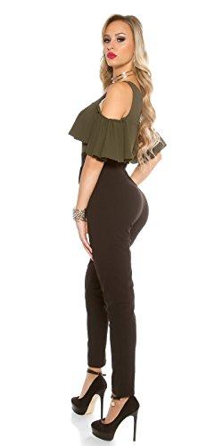 In-Stylefashion - Combinaison - Femme marron marron clair L Marron Clair