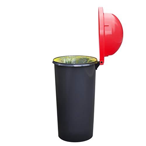 KUEFA Mülleimer / Müllsackständer / Gelber Sack Ständer (Rot)