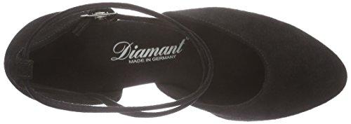 Diamant Damen Tanzschuhe 058-068-001 Standard & Latein Schwarz (Schwarz)