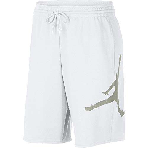 Nike Air Jordan Fleece - Gröbe L - Shorts Für Herren - Rot (Jordan Nike Basketball Shorts)
