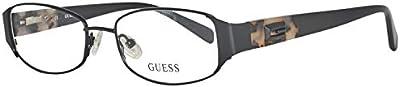 Guess Brille GU2411 52B84 Monturas de gafas, Negro (Schwarz), 52 para Mujer