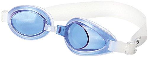 Speeron Profischwimmbrille: Schwimmbrille blau (Antibeschlag-Schwimmbrille)