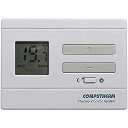 COMPUTHERM Q3 Thermostat connecté, thermostat d'ambiance avec thermomètre pour radiateur, climatisation, chauffage au sol, régulateur de température