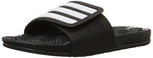 adidas Adissage 2.0 Sandalen Damen Pantoletten schwarz