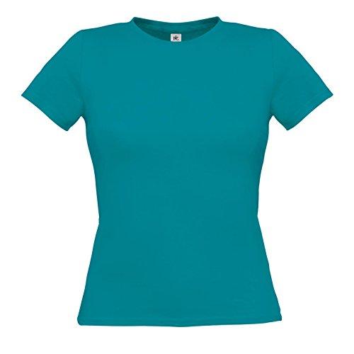 B&C Collection Damen Modern T-Shirt Gr. XS, Diva Blue (Damen T-shirt Light Diva)