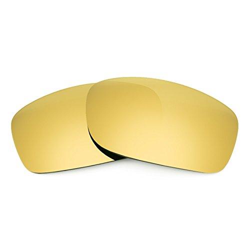 Revant Ersatzlinsen für Oakley Fives Squared Polarisierung Elite Gold MirrorShield®