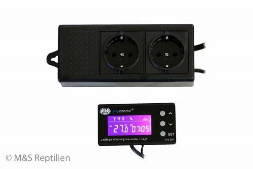M&S Reptile Hygro Control V3 WEEE RegNr. 82392108 (Hygrostat und Zeitschaltuhr)