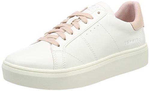ESPRIT Damen Elda Lace up Sneaker, Beige (Nude), 40 EU