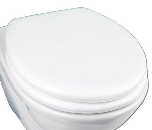 WENKO 77701500 WC-Sitz Soft , Kunststoff, 36.2 x 7.2 x 44.7 cm, Weiß -