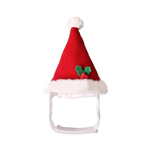 Deayi Party Pet Supplies Weihnachten HaustiereHaarreif DekoCute Haustierzubehör Puppy Husky Cosplay Zubehör Halloween Stirnband Weihnachtsmütze