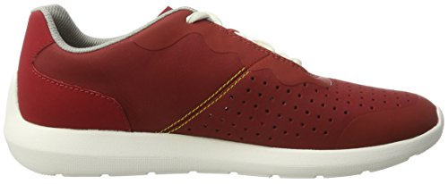 Clarks Torset Vibe, Sneakers Basses Homme Rouge (Red)