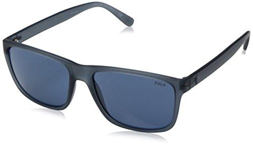 Polo Ralph Lauren Herren 0Ph4113 561280 57 Sonnenbrille, Blau (Navy Blue)