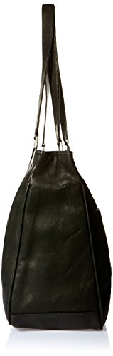 Piel Leather Grand Sac de shopping, Noir, Taille noir