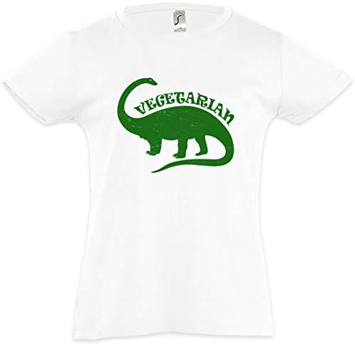Urban Backwoods Vegetarian Dinosaur Camiseta para Niñas Dinosaurier Saurier Pflanzenfresser Plant-Eaters Brontosaurus Bronto