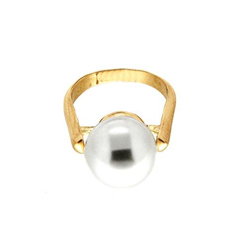 sweet deluxe 5960 Damen Ring Benita Gold (Material Kostüm Madonna Girl)