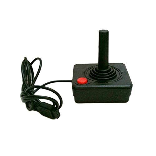 Na Jia Ka Upgraded 1,5 m Gaming Joystick Controller für Atari 2600 Game Rocker mit 4-Wege-Hebel und Single Action Button Retro Gamepad (Kleine Video Game Organizer)