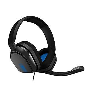 ASTRO Gaming A10 Headset (kabelgebunden, kompatibel mit PlayStation 4, Xbox One, PC, Mac) schwarz/blau
