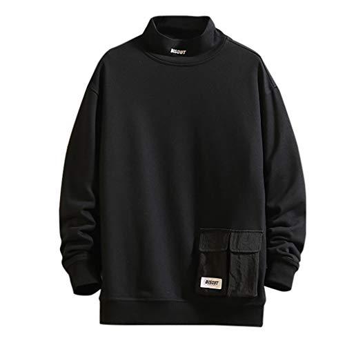Neue Morphsuits - YUHUISTAR Strickpullover Herbstjacke Fashion Printing Rollkragen