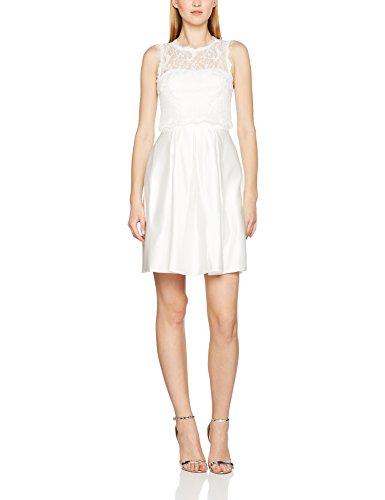 Laona La81809, Robe Femme Weiß (Cream White Cream White)