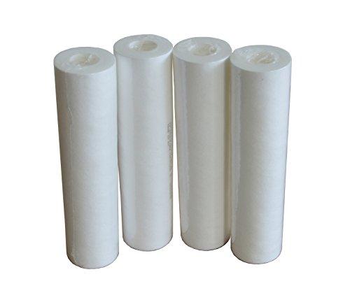 Cartucce filtro acqua sedimenti 10 pollici 20 micron confezione 4 cartucce