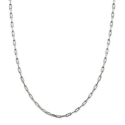 Sterling Halskette 3,25 mm Silber Lust auf Kette Link