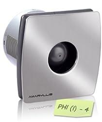 Amaryllis Bathroom Exhaust Fan 4 Inch PhI(I)- 4 SS FINISH