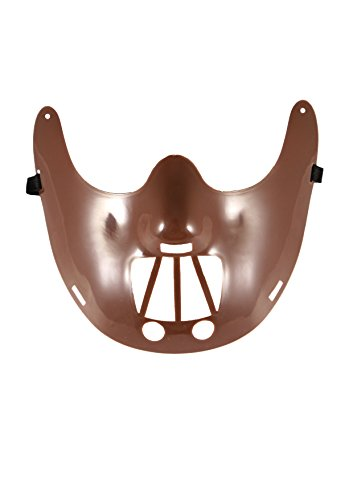 Lecter Hannibal Maske Kostüm - Herren Hannibal Lecter Maske Halloween Horror Party Erwachsene Cosplay Style Kostüm Gruselmaske