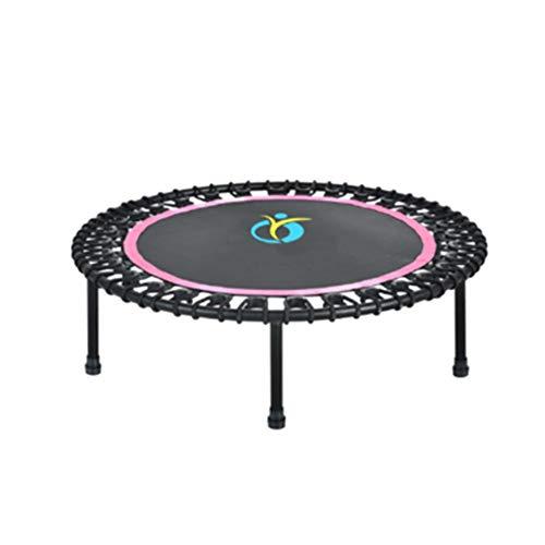 40-Zoll-Indoor-Rebounder-Trampolin für Kinder ab 10 Jahren, Fitness-Trampolin für Erwachsene, Garten-Workout, Cardio-Training, Belastung 250 kg -