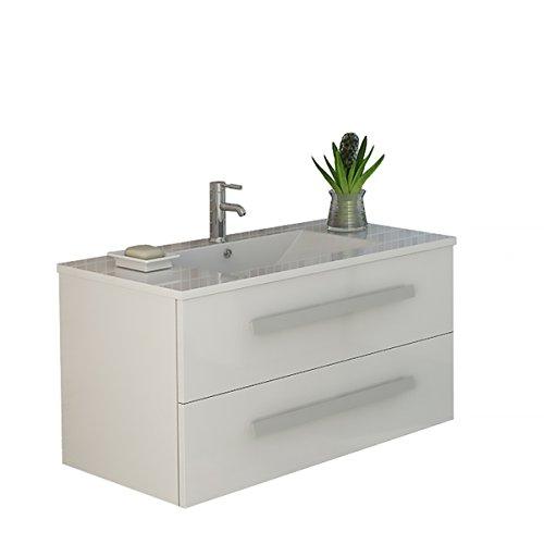 Jet-Line lavabo 'Rapperswil', blanc brillant