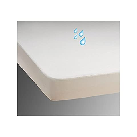 Waterproof Mattress Protector - Incontinence Care - Flannel bedding cover 120 x 200 cm - Small Double -4ft- 120 x 200 cm