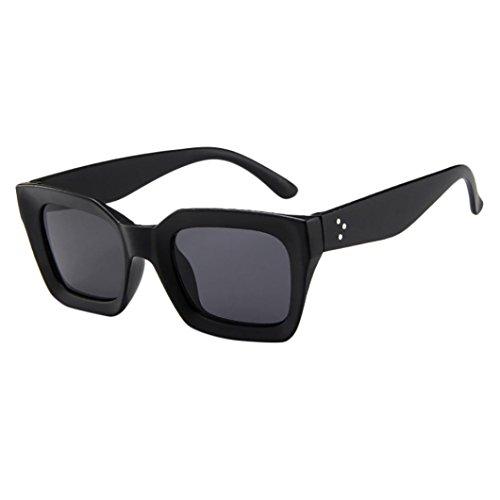 Dragon868 Mode Frauen Mann Sonnenbrille Vintage Retro Sonnenbrille Sunglasses Sonnen-Überbrille UV400 Schutz (C)