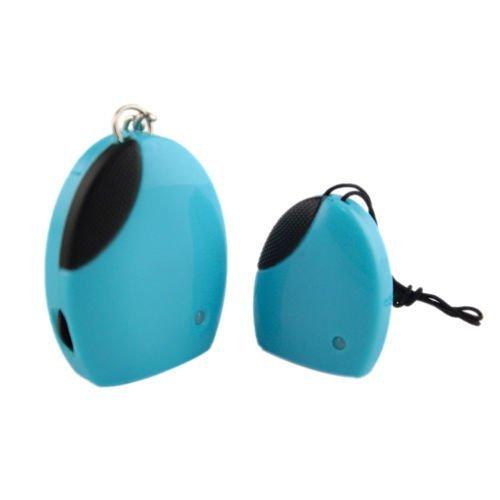 Anzeige Powered Remote (Mengshen® drahtlose elektronische Anti-Verlorene gestohlene Erinnerung Locator Finder Personal Guard Kind Kinder Haustiere Gepäck Diebstahl-Sicherheits-Sicherheits-Warnungssystem Keychain Set MS-FD07Blue)