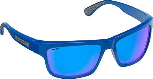 Cressi Unisex- Erwachsene Ipanema Sunglasses Sonnenbrille, Navy/Linse Blau Verspiegelte, Einheitsgröße