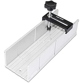 Wolfcraft 2228000 250 x 73 x 60mm Aluminium Mitre Box with Clamp