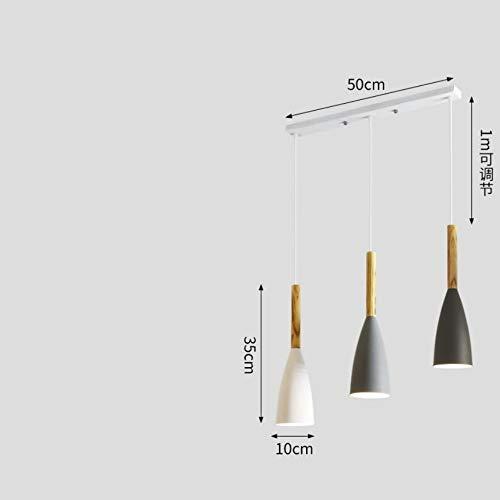 Die Hängelampe Pendelleuchten Kronleuchter Kreative Esszimmerbar des Kronleuchterrestaurants industrielle Windschlafzimmerbeleuchtung