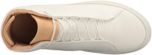 Ecco Kinhin, Sneakers Hautes Homme Blanc (White/veg Tan)