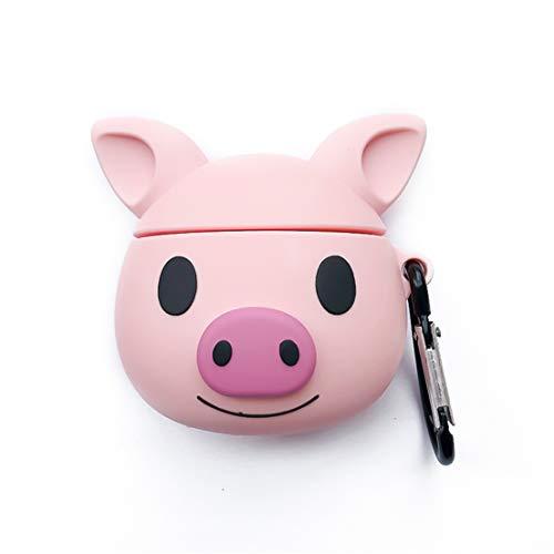 YanCHang Kopfhörer-Schutzhülle, Silikon, Cartoon-Motiv Little Pig (Merchandise Pig)
