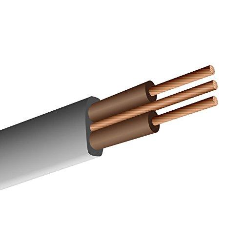 Dencon Wohnung Twin & Earth - Harmonisierte Farben - 1.50mm2 Doppel Brown 100m Drum