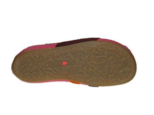 Haflinger carmen 483064 chaussons chaussures pantoufles sabots Rouge - Fuchsia