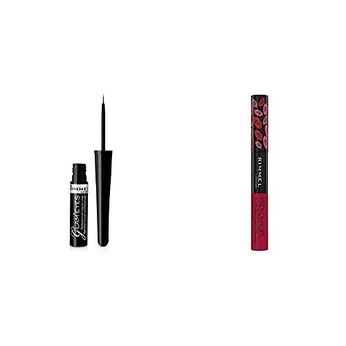 Rimmel London Glam Eyes Eyeliner 001 + Provocalips