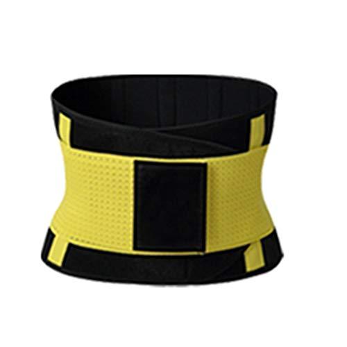 lindahaot Männer Frauen Taille Cincher Abnehmen von Körper-Gurt-Gewicht-Verlust-Trimmer Shaper-Bügel-Rückenstütze Sport Hüftgürtel